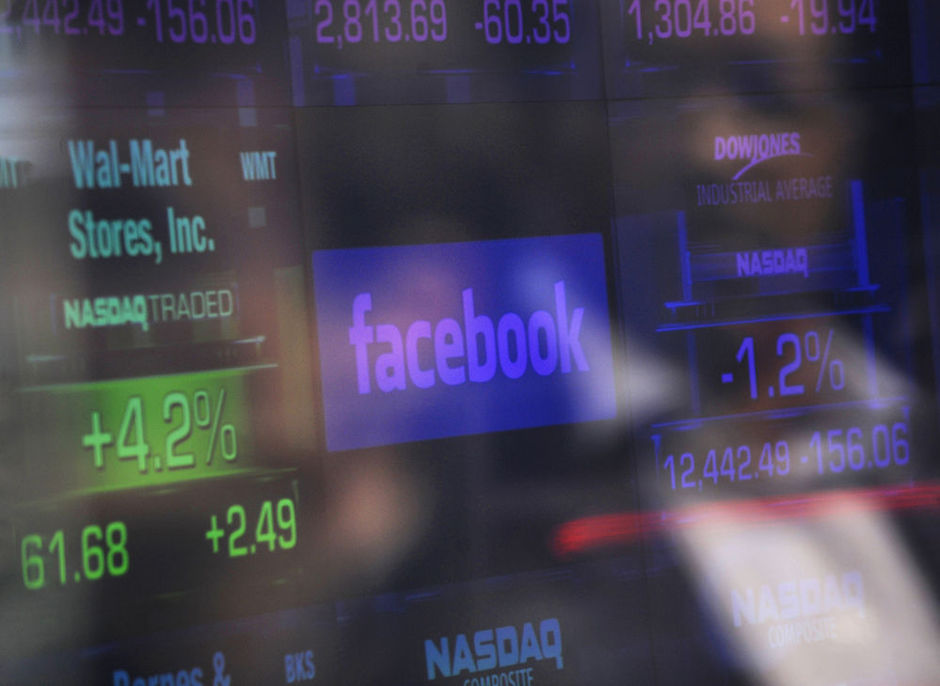 Facebook plonge à l'ouverture de la Bourse à New York